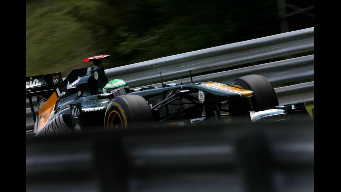 Heiki Kovalainen - GP Ungarn - Formel 1 - 30.7.2011
