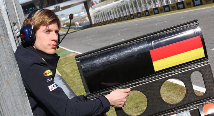 Heikki Huovinen Vettel-Trainer 2012 Jerez