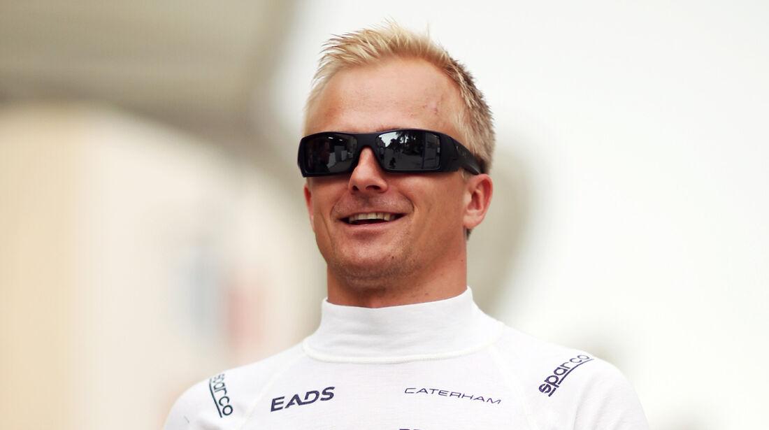 Heikki Kovalainen - Caterham - Formel 1 - GP Bahrain - 18. April 2013