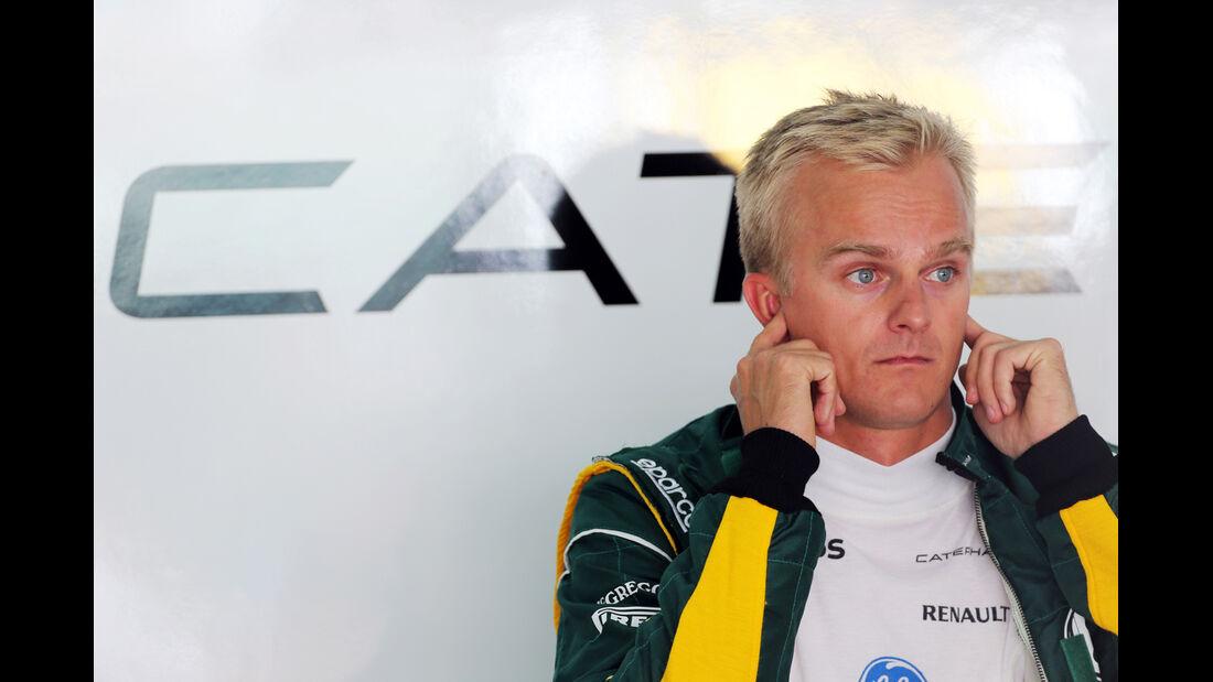 Heikki Kovalainen - Caterham - Formel 1 - GP Bahrain - 19. April 2013