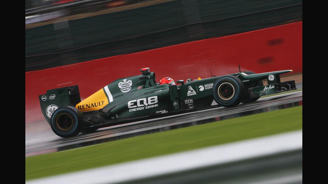 Heikki Kovalainen - Caterham - Formel 1 - GP England - Silverstone - 6. Juli 2012