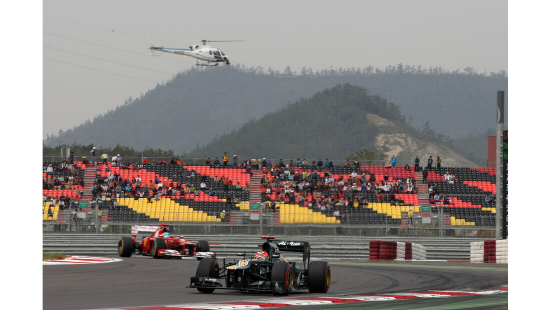 Heikki Kovalainen - Caterham - Formel 1 - GP Korea - 13. Oktober 2012