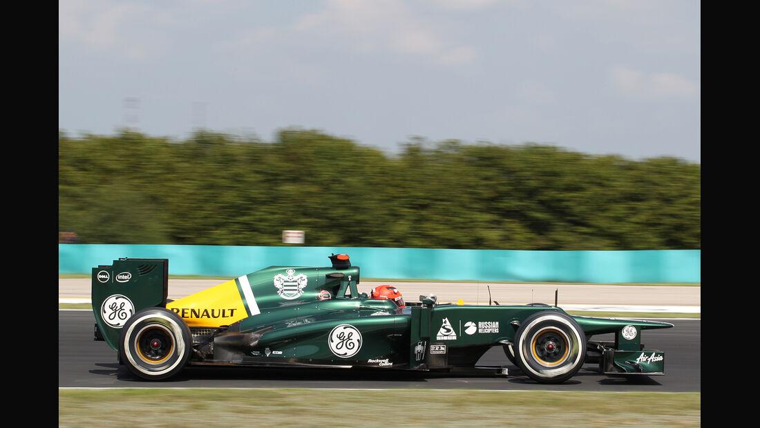 Heikki Kovalainen - Caterham - Formel 1 - GP Ungarn - Budapest - 28. Juli 2012