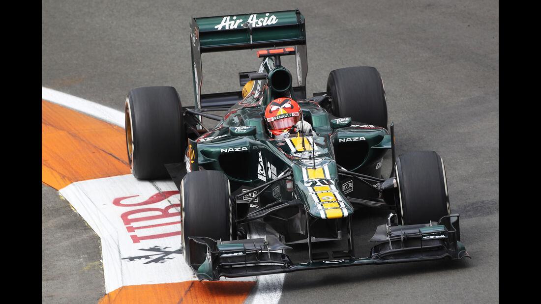 Heikki Kovalainen - Caterham - GP Europa - Formel 1 - Valencia - 22. Juni 2012