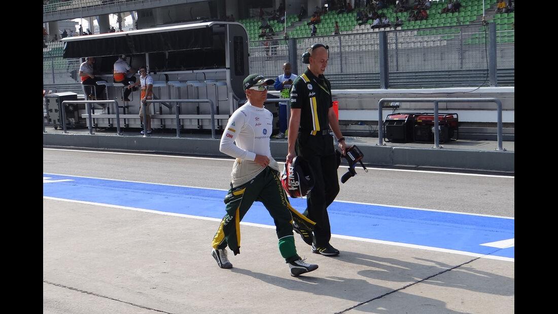 Heikki Kovalainen - Caterham - GP Malaysia - Training - 23. März 2012