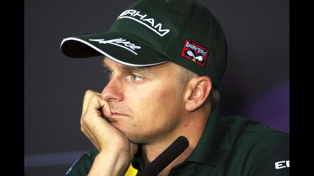 Heikki Kovalainen - Formel 1 - GP Bahrain - 19. April 2012