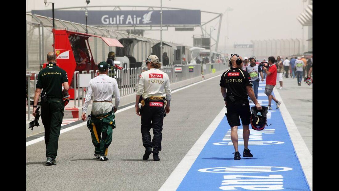 Heikki Kovalainen - Formel 1 - GP Bahrain - 21. April 2012