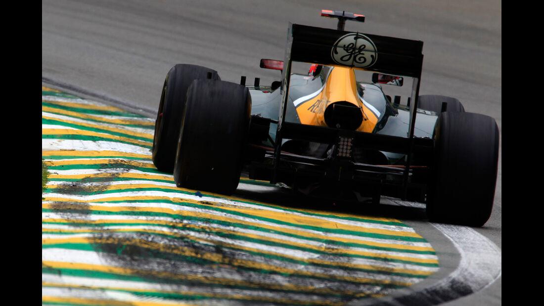 Heikki Kovalainen Formel 1 GP Brasilien 2012