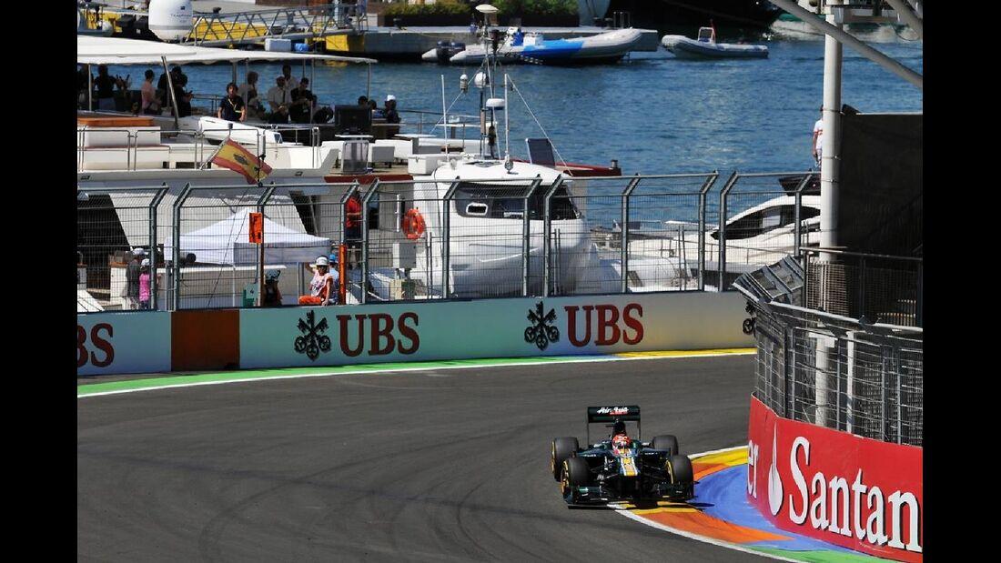 Heikki Kovalainen  - Formel 1 - GP Europa - 23. Juni 2012