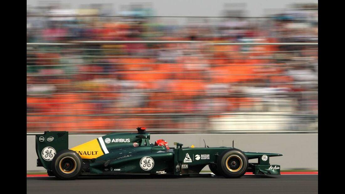 Heikki Kovalainen - Formel 1 - GP Indien - 27. Oktober 2012