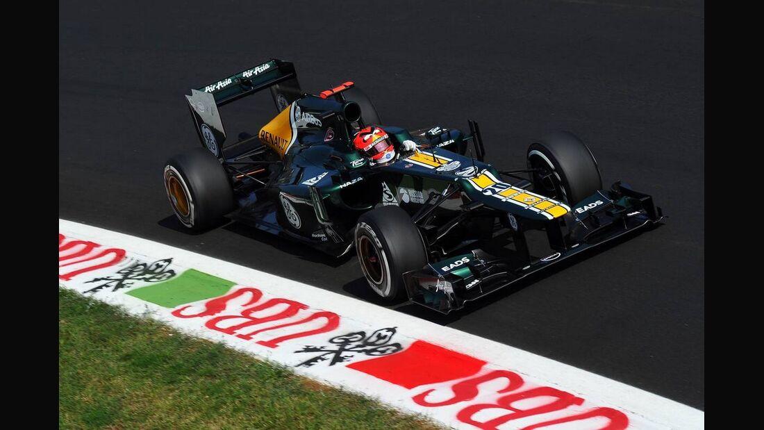 Heikki Kovalainen  - Formel 1 - GP Italien - 07. September 2012