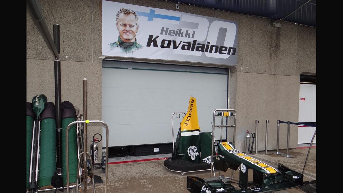 Heikki Kovalainen - Formel 1 - GP Kanada 2012 - 8. Juni 2012