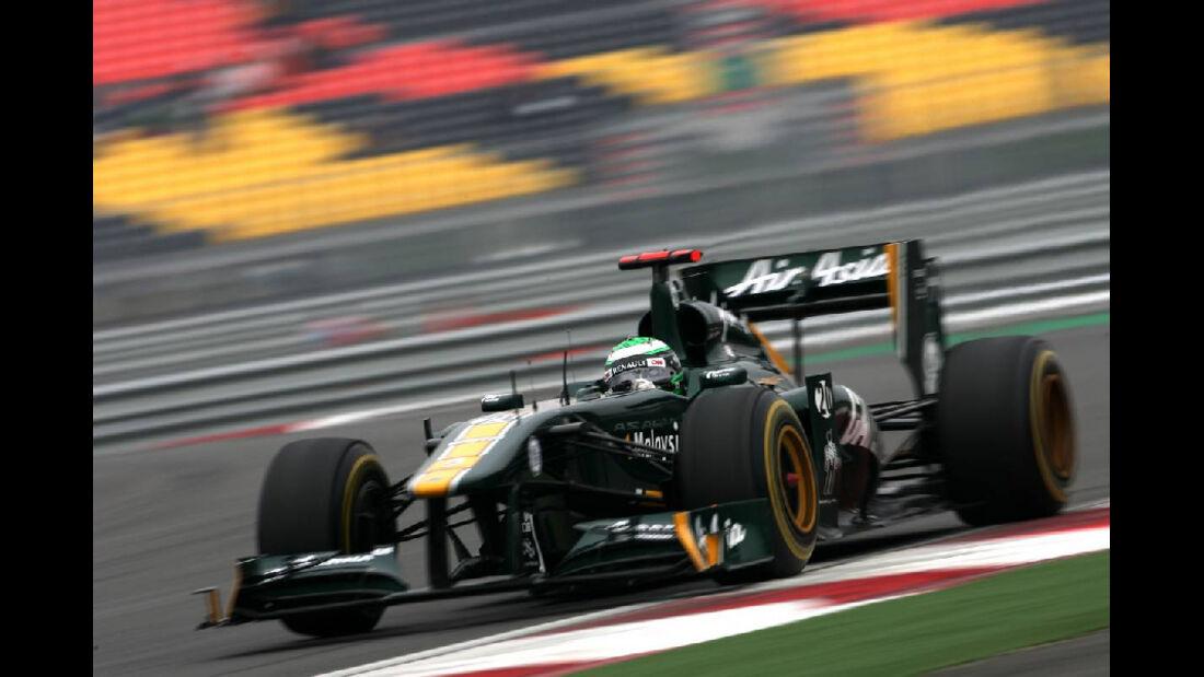 Heikki Kovalainen  - Formel 1 - GP Korea - 15. Oktober 2011
