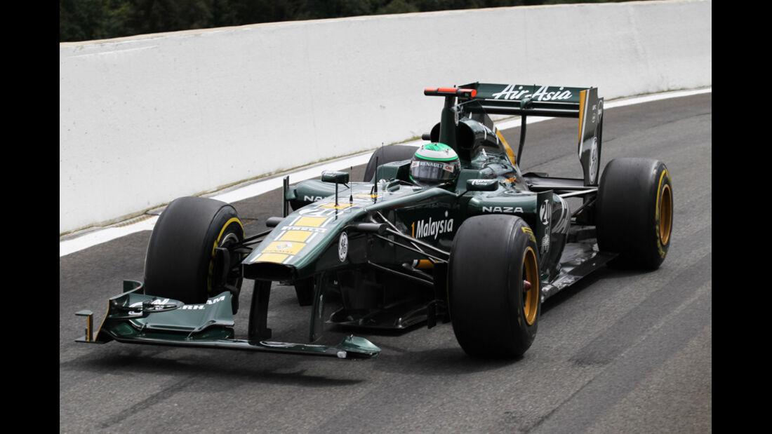 Heikki Kovalainen GP Belgien 2011
