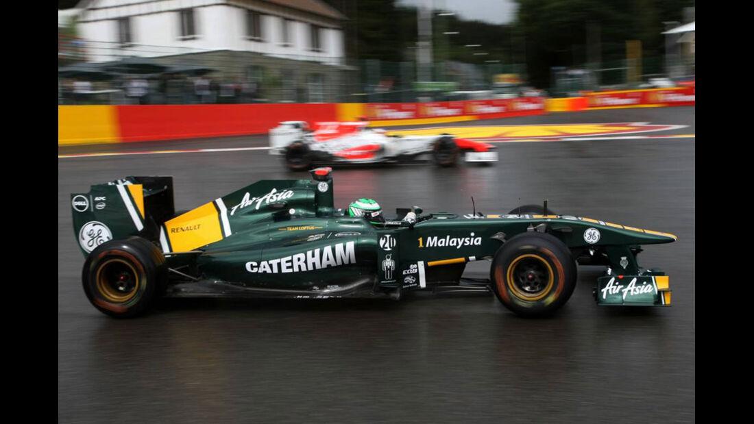 Heikki Kovalainen - GP Belgien - Qualifying - 27.8.2011
