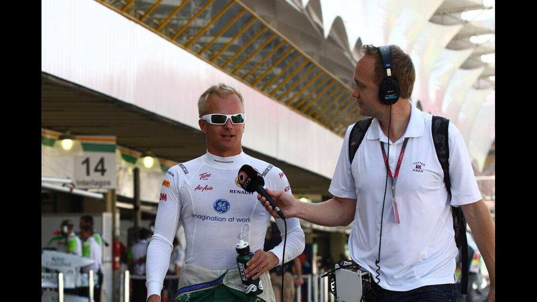 Heikki Kovalainen - GP Brasilien - 25. November 2011