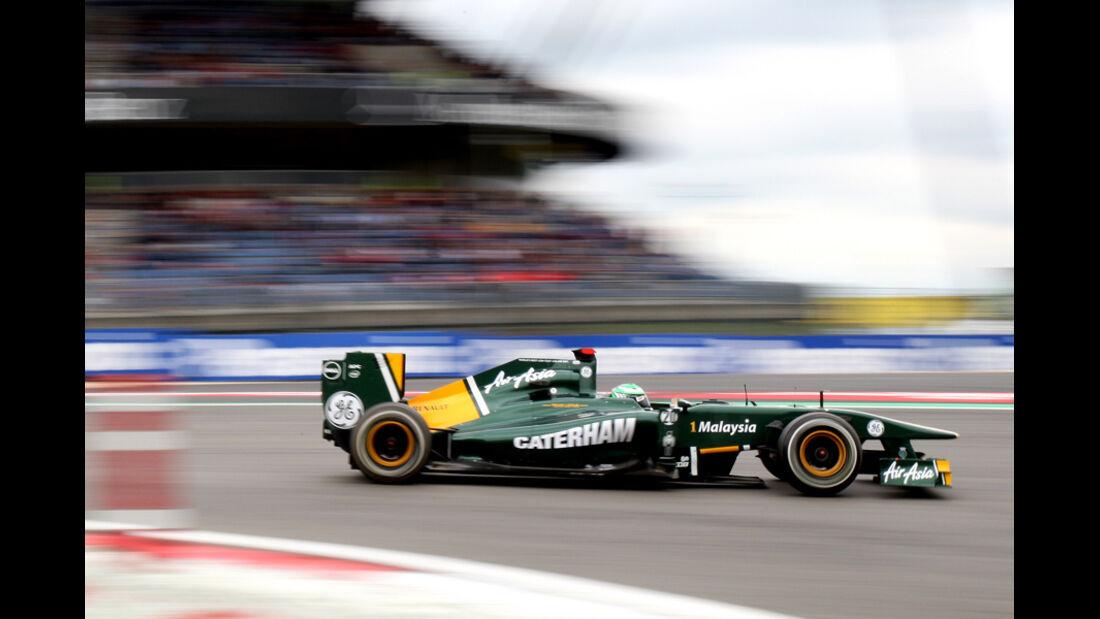 Heikki Kovalainen GP Deutschland 2011