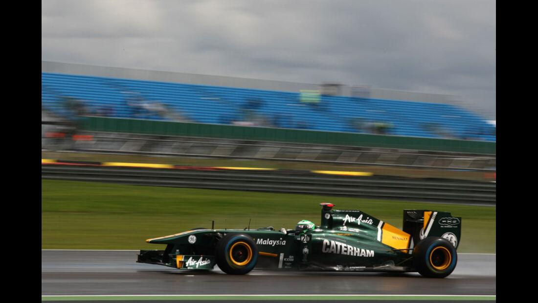 Heikki Kovalainen GP England 2011