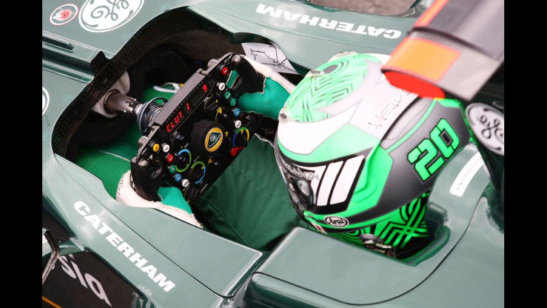 Heikki Kovalainen - GP England - Qualifying - 9. Juli 2011