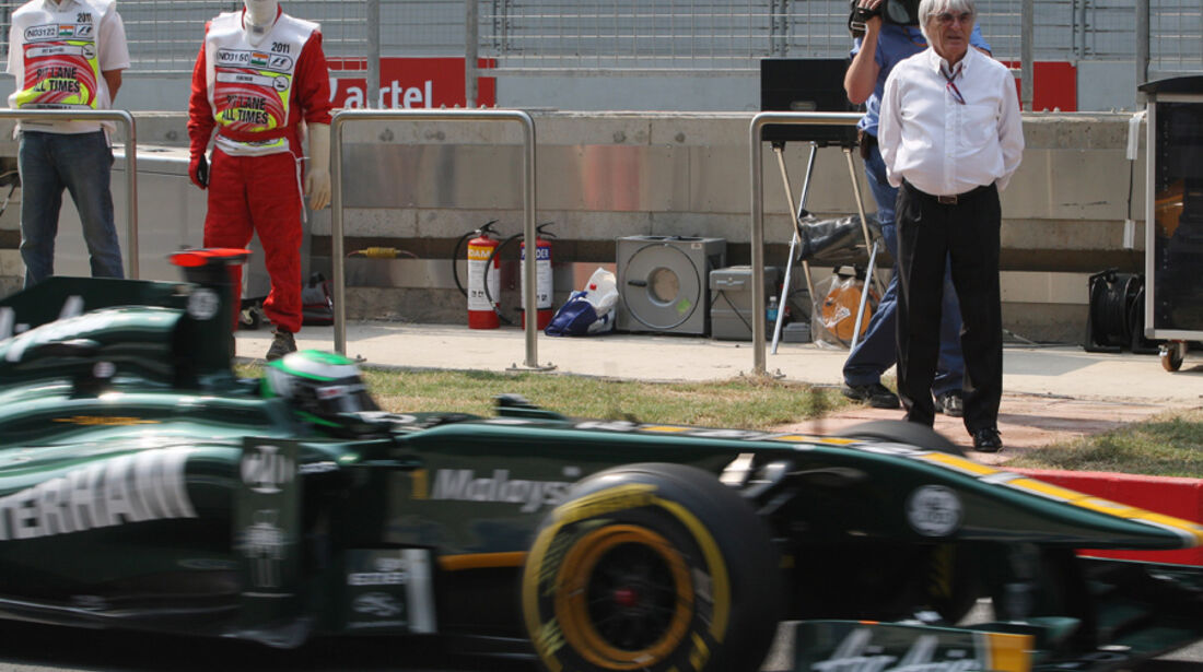 Heikki Kovalainen - GP Indien - Delhi - 29.10.2011