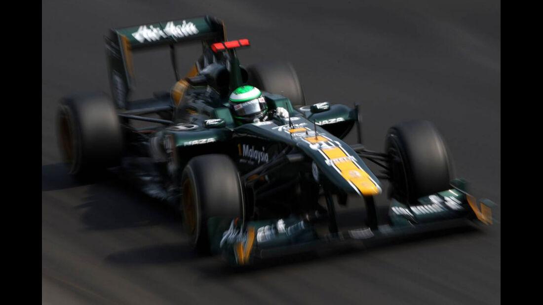 Heikki Kovalainen - GP Italien - Monza - 10. September 2011