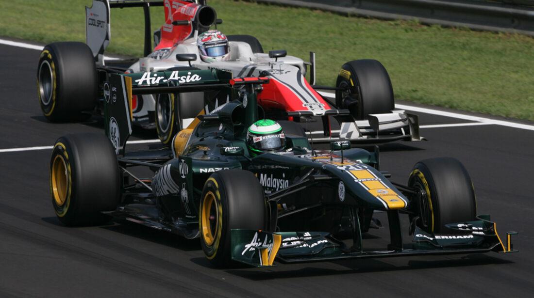Heikki Kovalainen GP Italien Monza 2011