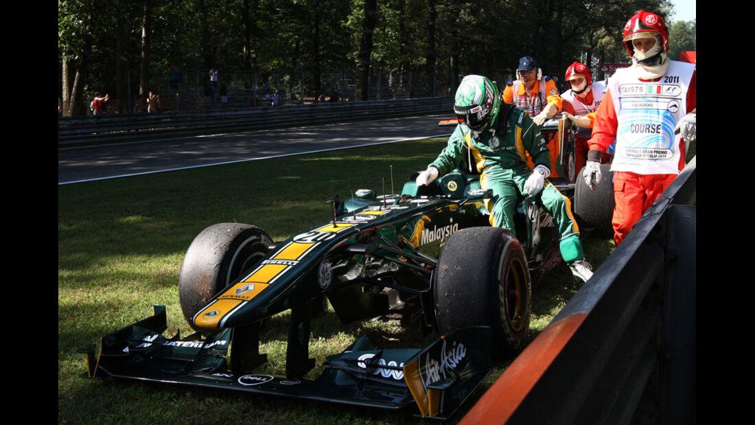 Heikki Kovalainen - GP Italien - Monza - 9. September 2011