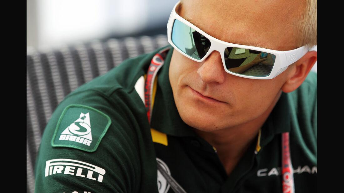 Heikki Kovalainen - GP Kanada - Formel 1 - 7. Juni 2012