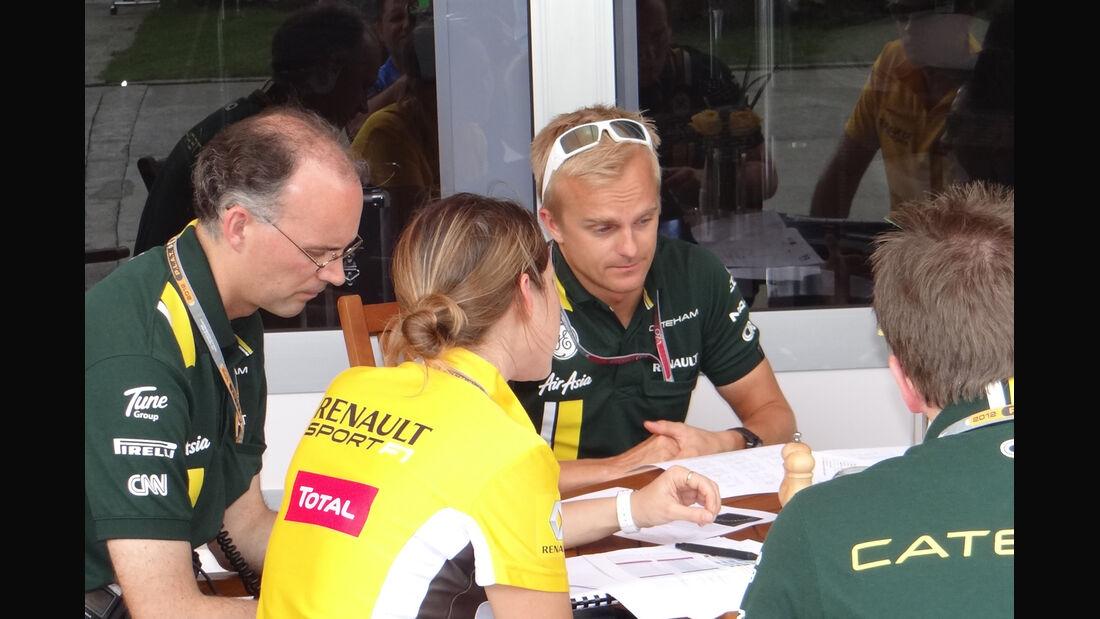Heikki Kovalainen - GP Malaysia - 22. März 2012