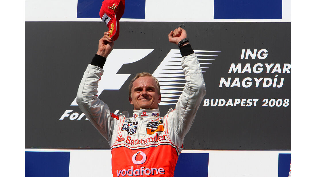 Heikki Kovalainen - GP Ungarn 2008