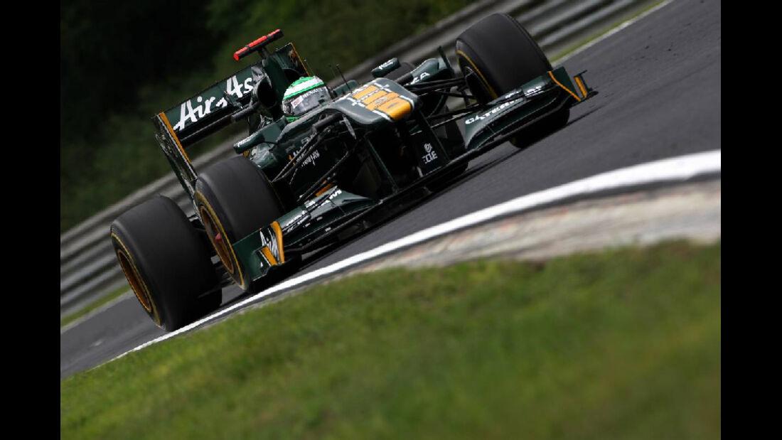 Heikki Kovalainen GP Ungarn - Formel 1 - 29.7.2011