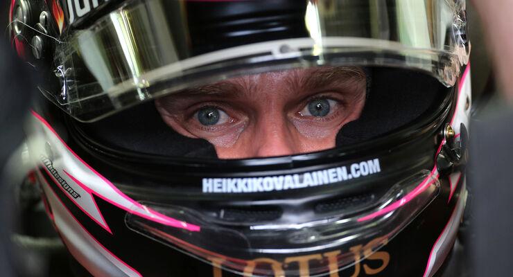 Heikki Kovalainen - Lotus - Formel 1 - GP Brasilien - 22. November 2013