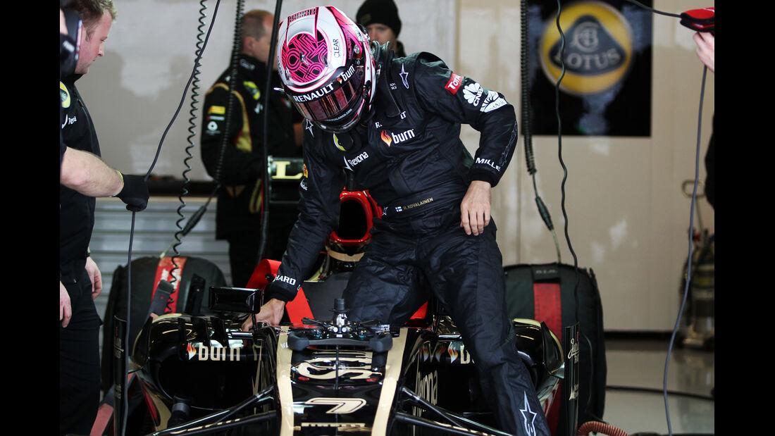 Heikki Kovalainen - Lotus - Formel 1 - GP USA - 15. November 2013