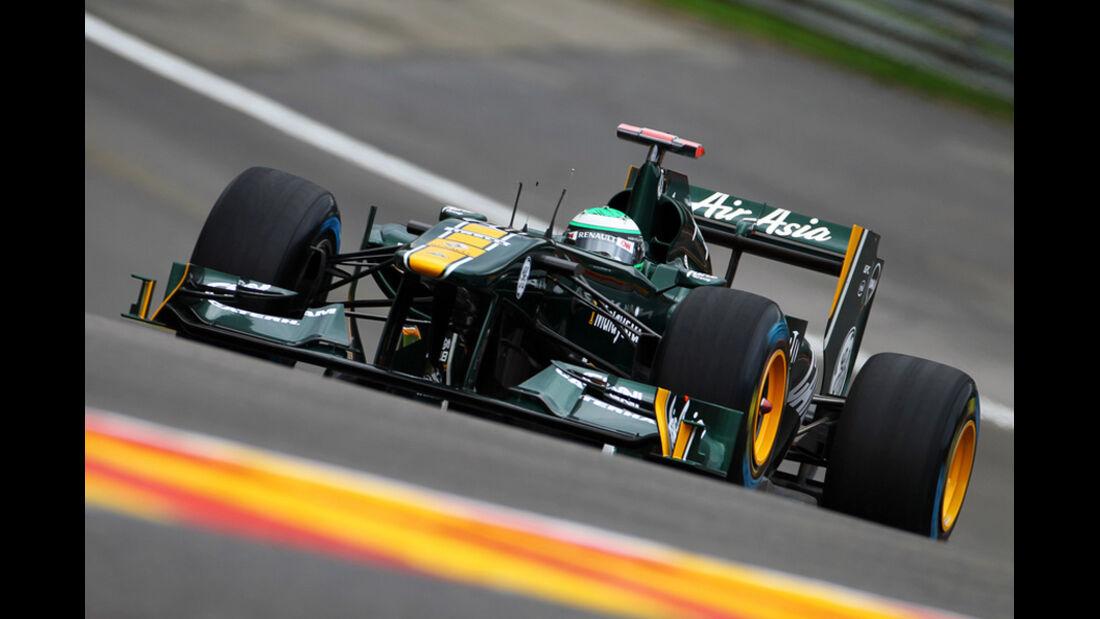 Heikki Kovalainen Lotus GP Belgien 2011
