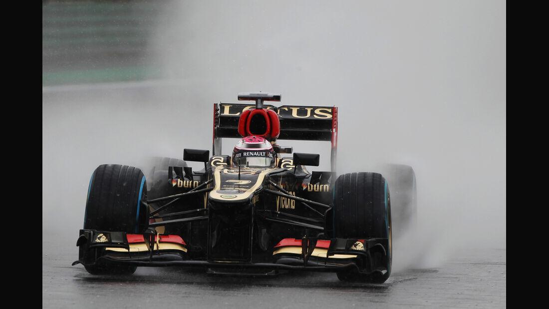 Heikki Kovalainen - Lotus - GP Brasilien - 23. November 2013