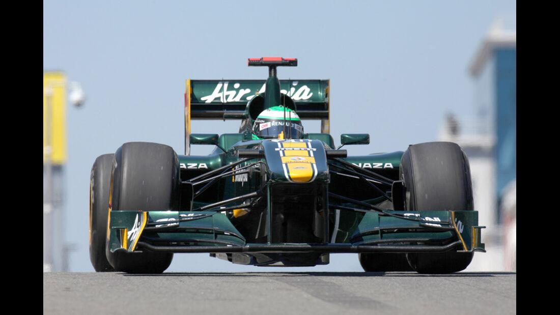 Heikki Kovalainen Lotus GP Türkei 2011