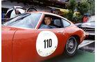 Heiner Lauterbach im Toyota 2000 GT