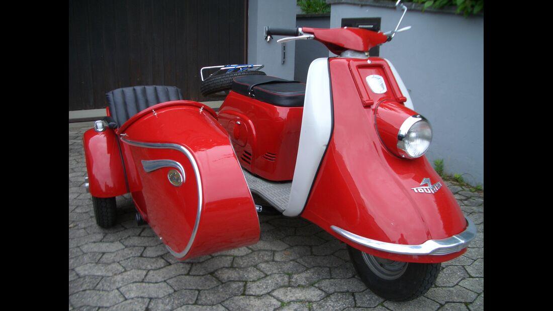 Heinkel Tourist + Steib R21