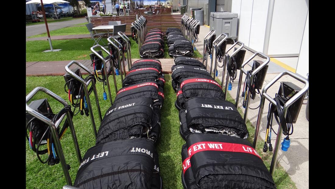 Heizdecken - GP Australien - 14. März 2012