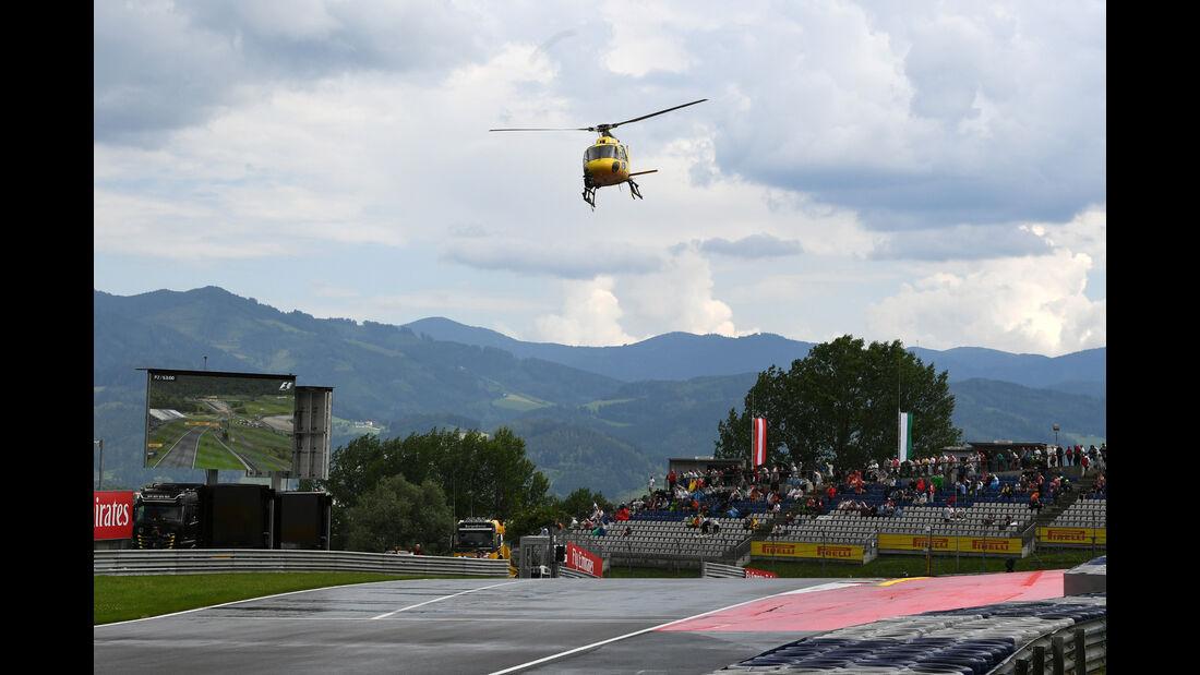Helikopter - Formel 1 - GP Österreich - Spielberg - 1. Juli 2016