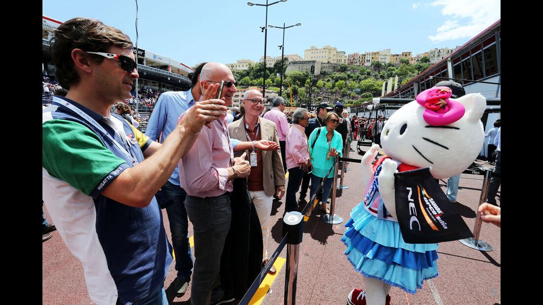 Hello Kitty  - Formel 1 - GP Monaco - Sonntag - 24. Mai 2015