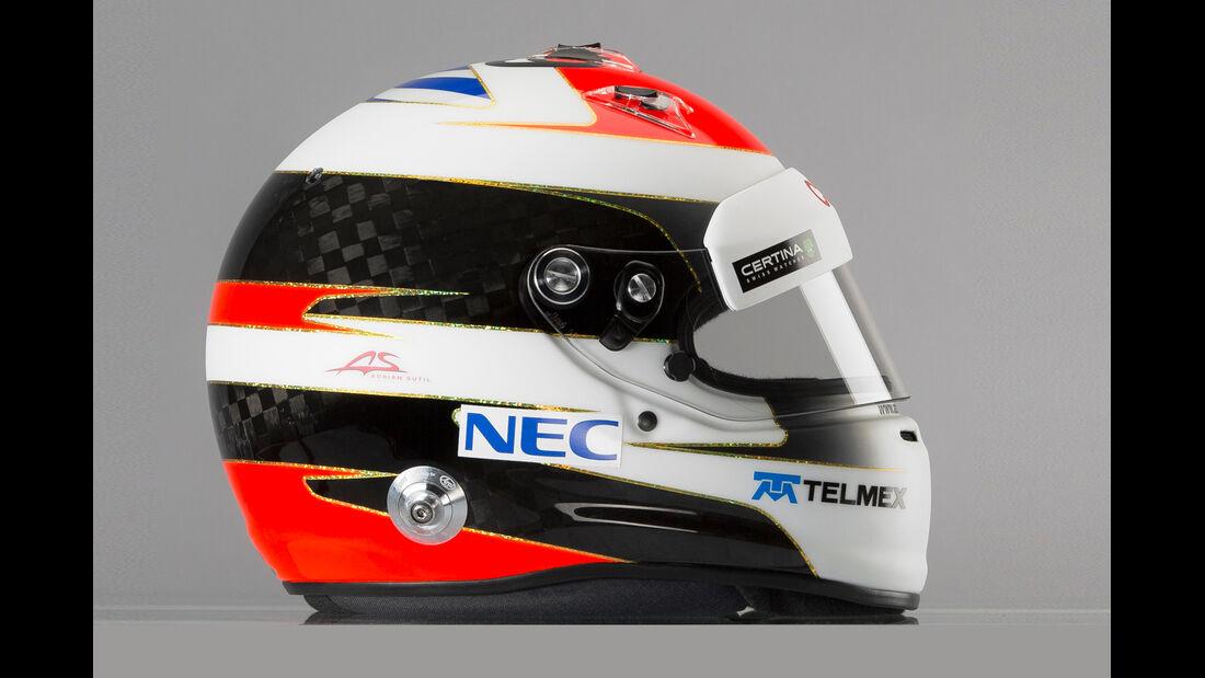Helm Adrian Sutil - Formel 1 2014