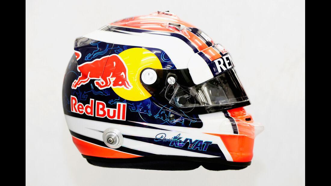 Helm Daniil Kvyat - Formel 1 2014