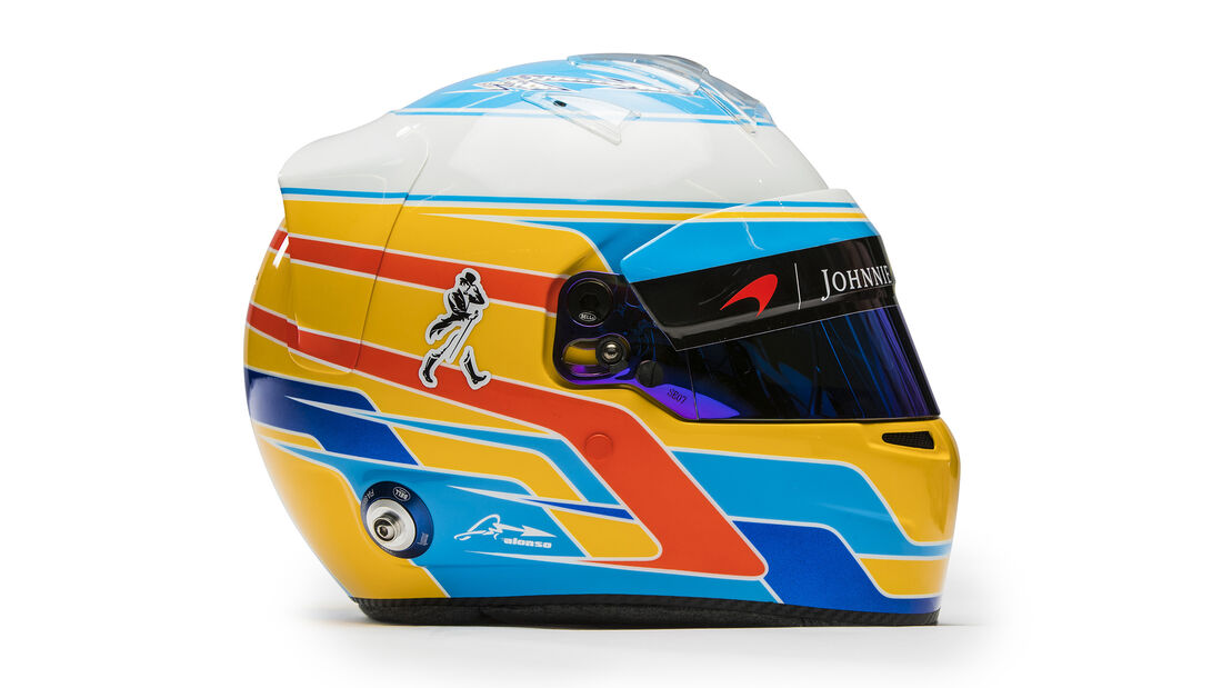 Helm - Fernando Alonso - 2017
