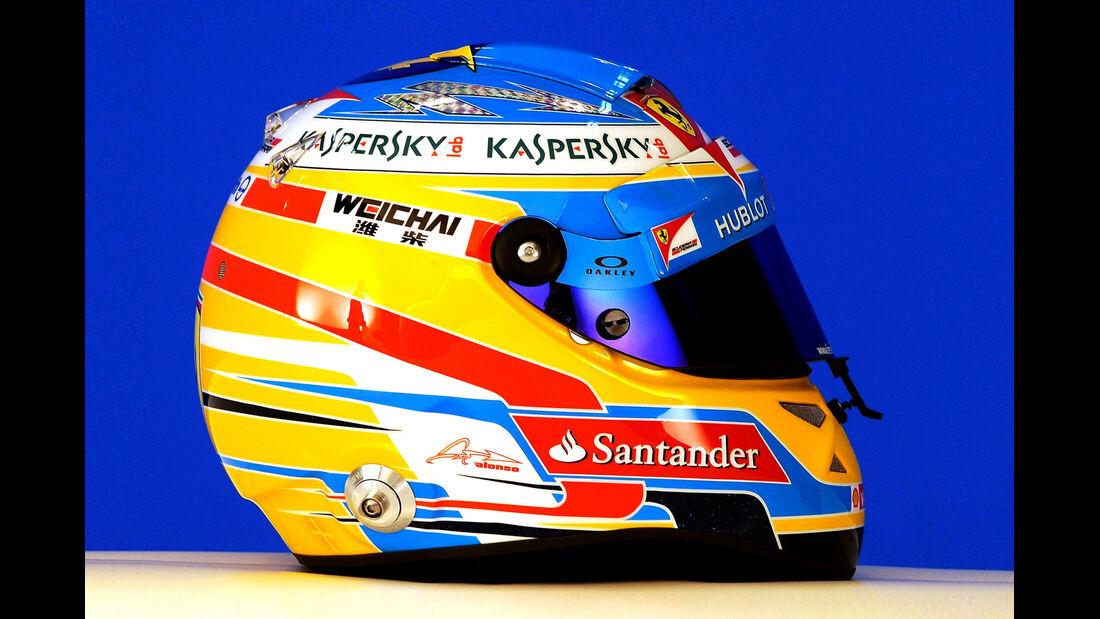 Helm Fernando Alonso - Formel 1 2014