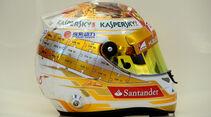 Helm Fernando Alonso - Formel 1 - GP Monaco - 24. Mai 2013