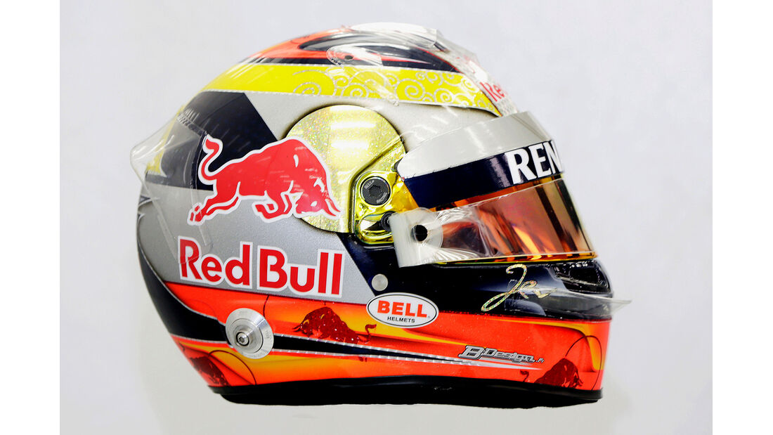 Helm Jean-Eric Vergne - Formel 1 2014
