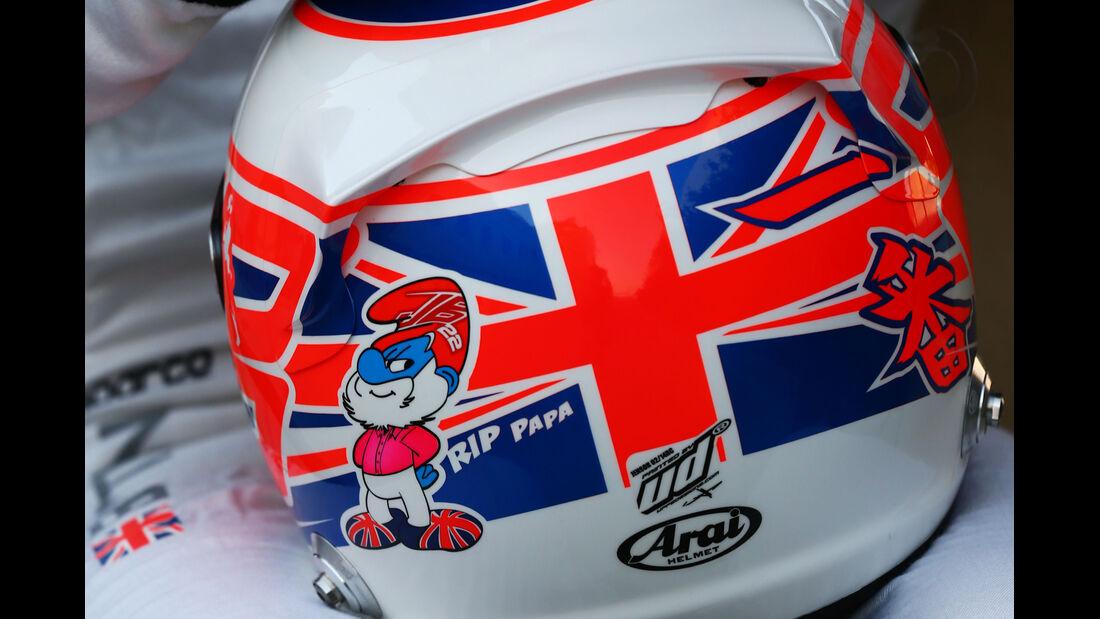 Helm Jenson Button - Formel 1 2014