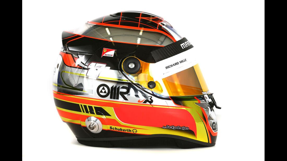 Helm Jules Bianchi - Formel 1 2014