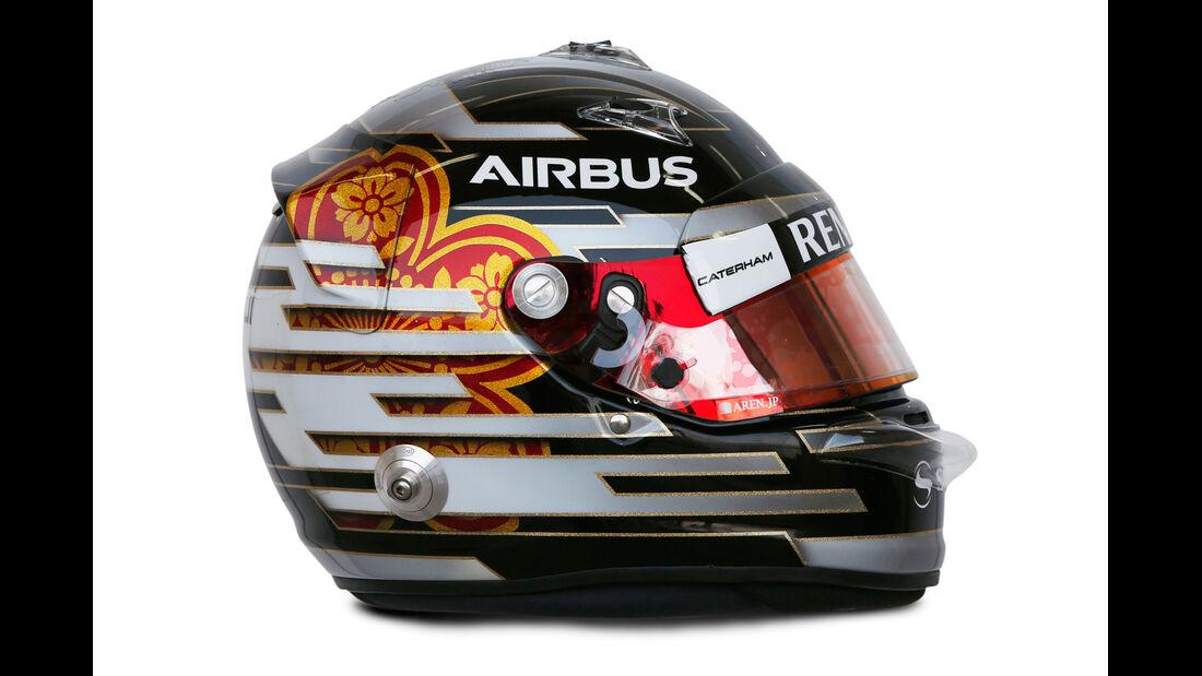 Helm Kamui Kobayashi - Formel 1 2014